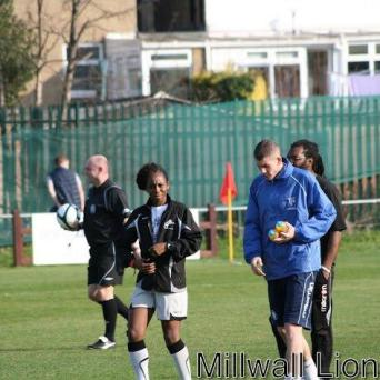 Coaching at Millwall Lionesses FC