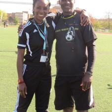 Me & Coach Everton
