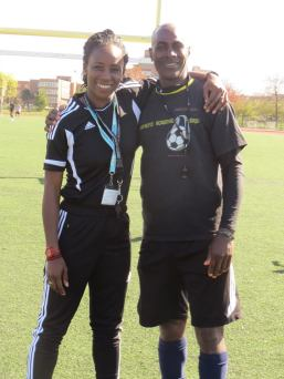 Me & Coach Everton
