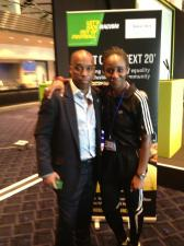 With Troy Townsend, of Kick It Out