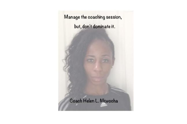 Manage the coaching session