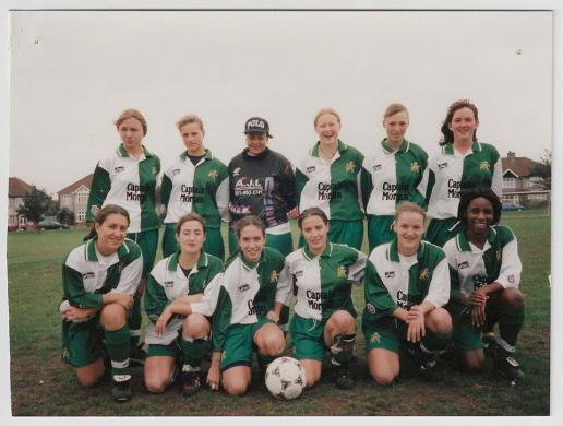 Playing for Millwall Lionesses FC