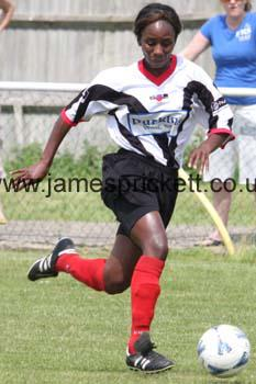Playing for Tooting & Mitcham