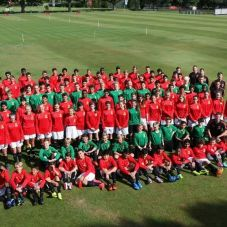Camp Photo with Manchester United FC Soccer School